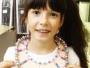 Design Vestimentar Realizare colier cusut cu margele Ana 130x98 Atelier design vestimentar, Copii 8 18 ani