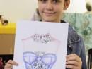 Design Vestimentar Rochie cu Broderie Miruna 130x98 Atelier design vestimentar, Copii 8 18 ani