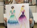 Design Vestimentar Stilul Romantic Ilinca 130x98 Atelier design vestimentar, Copii 8 18 ani
