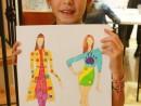 Design Vestimentar Stilul romantic Ana Maria 130x98 Atelier design vestimentar, Copii 8 18 ani