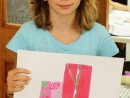 Design Vestimentar Studiu drapaj cu geanta in acrilice Ioana 130x98 Atelier design vestimentar, Copii 8 18 ani