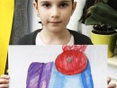 Design Vestimentar Studiu drapaj cu palarie in acuarele Daria 130x98 Atelier design vestimentar, Copii 8 18 ani