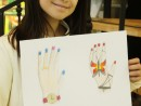 Design Vestimentar Studiu palme in creioane cerate Ana 130x98 Atelier design vestimentar, Copii 8 18 ani