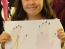 Design Vestimentar Studiu palme in creioane cerate Ayana 130x98 Atelier design vestimentar, Copii 8 18 ani