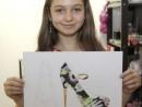 Design Vestimentar Studiu pantof Miruna 130x98 Atelier design vestimentar, Copii 8 18 ani