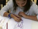 Design Vestimentar Studiul corpului uman Creioane colorate Femeie Anastasia1 130x98 Atelier design vestimentar, Copii 8 18 ani