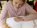 Design Vestimentar Studiul corpului uman Creioane colorate Femeie Antonia 130x98 Atelier design vestimentar, Copii 8 18 ani