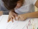 Design Vestimentar Studiul corpului uman Creioane colorate Femeie Daria 130x98 Atelier design vestimentar, Copii 8 18 ani