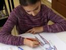 Design Vestimentar Studiul corpului uman Creioane colorate Femeie Ioana 130x98 Atelier design vestimentar, Copii 8 18 ani