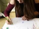 Design Vestimentar Studiul corpului uman Creioane colorate Femeie Irina 130x98 Atelier design vestimentar, Copii 8 18 ani