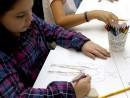 Design Vestimentar Studiul corpului uman Creioane colorate Femeie Irina1 130x98 Atelier design vestimentar, Copii 8 18 ani