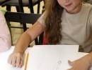Design Vestimentar Studiul corpului uman Creioane colorate Femeie Jessica 130x98 Atelier design vestimentar, Copii 8 18 ani
