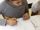 Design Vestimentar Studiul corpului uman Creioane colorate Femeie Mara 130x98 Atelier design vestimentar, Copii 8 18 ani