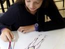 Design Vestimentar Studiul corpului uman Creioane colorate Femeie Maria 130x98 Atelier design vestimentar, Copii 8 18 ani