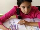 Design Vestimentar Studiul corpului uman Creioane colorate Femeie Viviana 130x98 Atelier design vestimentar, Copii 8 18 ani