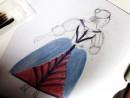 Design vestimentar Creatie vestimentara Baroc in Franta Acuarele 130x98 Atelier design vestimentar, Copii 8 18 ani
