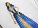 Design vestimentar Creatie vestimentara Baroc in Italia Acuarele 130x98 Atelier design vestimentar, Copii 8 18 ani