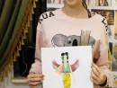 Design vestimentar Creatie vestimentara Egiptul Antic Acuarele Taisia 130x98 Atelier design vestimentar, Copii 8 18 ani