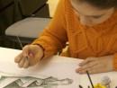 Design vestimentar Creatie vestimentara Roma antica Acuarele Briana 130x98 Atelier design vestimentar, Copii 8 18 ani