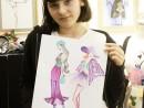Design vestimentar Stilul romantic Briana 130x98 Atelier design vestimentar, Copii 8 18 ani