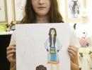 Design vestimentar Stilul traditional Ilinca 130x98 Atelier design vestimentar, Copii 8 18 ani