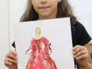 GRUP DESIGN VESTIMENTAR COSTUMUL IN BAROC ACUARELA SI CREIOANE ACUARELABILE 130x98 Atelier design vestimentar, Copii 8 18 ani