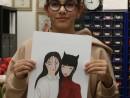 GRUP ILUSTRATIE DE MODA ASIAN LOOK LUNA MAI 130x98 Atelier design vestimentar, Copii 8 18 ani