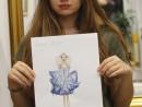 GRUP ILUSTRATIE DE MODA TEMA DESIGNERUL PREFERAT LUNA MARTIE  130x98 Atelier design vestimentar, Copii 8 18 ani