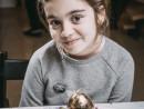 Academia de Primavara Paste Ou cu foite de aur in cuib Alexia 130x98 Atelier Arte Decorative