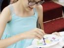 Scoala de Vara Arte decorative Pictura in culori textile Tricou pictat Andreea1 130x98 Scoala de Vara, 2017 – Galerie Foto