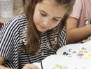 Scoala de Vara Arte decorative Pictura in culori textile Tricou pictat Maria Carina1 130x98 Scoala de Vara, 2017 – Galerie Foto