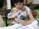 Scoala de Vara Arte decorative Tehnica servetelului culori textile Tricou decorat Ana Maria 130x98 Scoala de Vara, 2017 – Galerie Foto