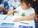 Scoala de Vara Grafica Creioane colorate Banda desenata Sofia 130x98 Scoala de Vara, 2017 – Galerie Foto