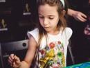 Scoala de Vara Pictura in culori textile Sacosa pictata Bianca 130x98 Scoala de Vara, 2017 – Galerie Foto