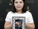 Scoala de vara Arte decorative Culori Vitraliu pe sticla Vitraliu marin Irina 130x98 Scoala de Vara, 2017 – Galerie Foto