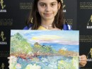Scoala de varaPictura Acrilic pe Panza Peisaj marin Reproducere Monet Anastasia 130x98 Scoala de Vara, 2017 – Galerie Foto