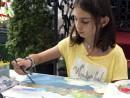Scoala de varaPictura Acrilic pe Panza Peisaj marin Reproducere Monet Anastasia1 130x98 Scoala de Vara, 2017 – Galerie Foto