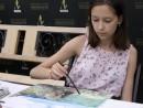 Scoala de varaPictura Acrilic pe Panza Peisaj marin Reproducere Monet Thaisia1 130x98 Scoala de Vara, 2017 – Galerie Foto