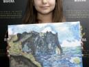Scoala de varaPictura Acrilic pe panza Peisaj marin Reproducere Monet Antonia 130x98 Scoala de Vara, 2017 – Galerie Foto
