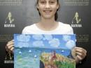Scoala de varaPictura Acrilic pe panza Peisaj marin Reproducere Monet Ilinca 130x98 Scoala de Vara, 2017 – Galerie Foto