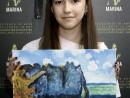 Scoala de varaPictura Acrilic pe panza Peisaj marin Reproducere Monet Victoria 130x98 Scoala de Vara, 2017 – Galerie Foto