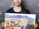 Scoala De Vara Pictura Acrilic pe panza Peisaj Marele Canyon Anastasia 130x98 Scoala de Vara, 2018 – Galerie Foto