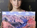 Scoala De Vara Pictura Acrilic pe panza Peisaj Marele Canyon Maria 130x98 Scoala de Vara, 2018 – Galerie Foto