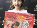 Scoala De Vara Pictura Acrilic pe panza Peisaj Savana Ilinca 130x98 Scoala de Vara, 2018 – Galerie Foto