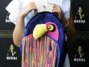 Scoala de Vara Atelier Design Vestimentar Cusut si decorat Rucsac Papagal Ana Maria 130x98 Scoala de Vara, 2018 – Galerie Foto