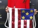 Scoala de Vara Atelier Design Vestimentar Cusut si decorat Rucsac Steagul SUA Anastasia 2 130x98 Scoala de Vara, 2018 – Galerie Foto