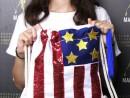 Scoala de Vara Atelier Design Vestimentar Cusut si decorat Rucsac Steagul SUA Ilinca 130x98 Scoala de Vara, 2018 – Galerie Foto