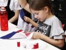 Scoala de Vara Atelier Design Vestimentar Cusut si decorat Rucsac Steagul SUA Timeea 1 130x98 Scoala de Vara, 2018 – Galerie Foto