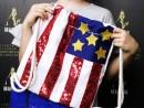 Scoala de Vara Atelier Design Vestimentar Cusut si decorat Rucsac Steagul SUA Timeea 130x98 Scoala de Vara, 2018 – Galerie Foto