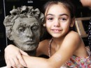 Scoala de Vara Modelaj Lut Portret Sud American Chiara 130x98 Scoala de Vara, 2018 – Galerie Foto